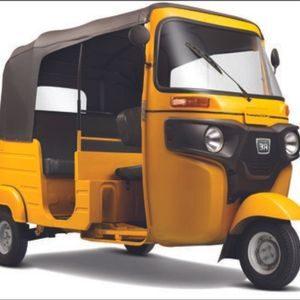 BAJAJ Yellow RE-LPG Auto Rickshaw