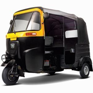 Four-Stroke BAJAJ RE-COMPACT CNG 4S Auto Rickshaw