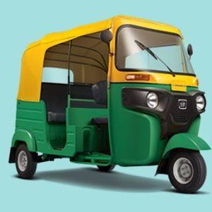 Four-Stroke CNG BAJAJ RE-COMPACT Auto Rickshaw