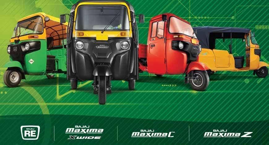 Price List of BAJAJ Auto Rickshaws